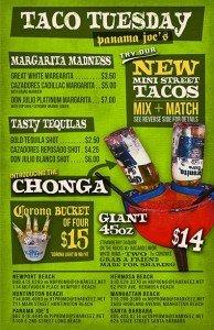 Taco Tuesday Panama Joes Belmont Shore 2