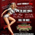 Panama Joes Long Beach Get Lucky Mondays Every Monday at 8pm