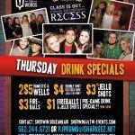 Thursday Drink Specials at Panama Joe's Long Beach (Belmont Shore)