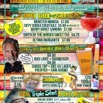 Saturday & Sunday Drink Specials at Panama Joes Long Beach (Belmont Shore) #LBC