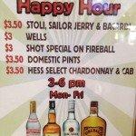 Legends Belmont Shore Daily Happy Hour Specials Mon – Fri, 3pm – 6pm