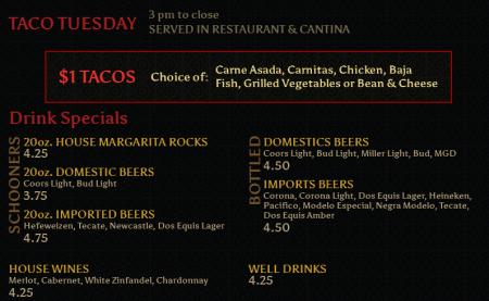 Taco Tuesday at Tequila Jacks Long Beach CA