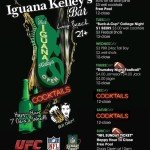 Iguana Kelley's Long Beach Daily Happy Hour Specials 7 Days a Week
