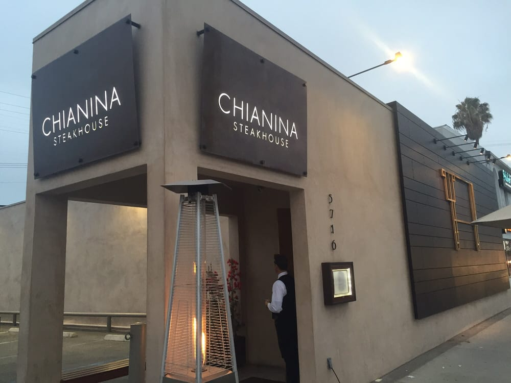 Chianina Steakhouse Long Beach CA