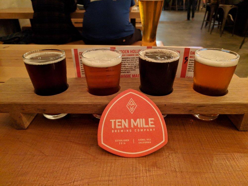 Ten Mile Brewing Signal Hill CA2